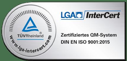 LGA Zertifikat Logo